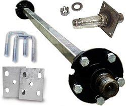 Boat Trailer Replacement Axles by Boat Trailer Parts Accessories At Trailer Parts Superstore 174