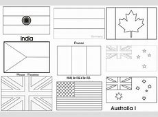 Flags Coloring Pages Metello