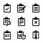Icon Icons Task Clipboards Activity Clip Bullets