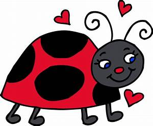 Ladybug clipart black and white free clipart images 4 ...