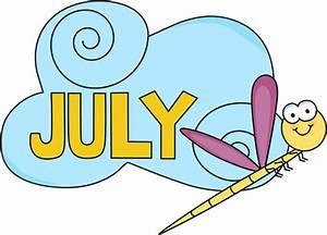 July Clip Art - July Images - Month of July Clip Art