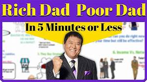 Rich Dad Poor Dad In 5 Minutes Or Less