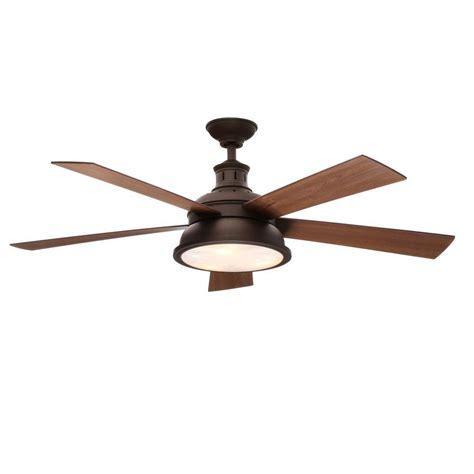 oil rubbed bronze ceiling fan hton bay marlton 52 in oil rubbed bronze ceiling fan