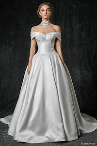 sareh nouri fall 2017 wedding dresses wedding inspirasi With off the shoulder wedding dresses 2017