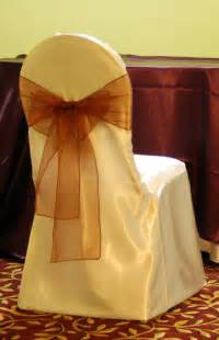 banquet chair cover ivory satin