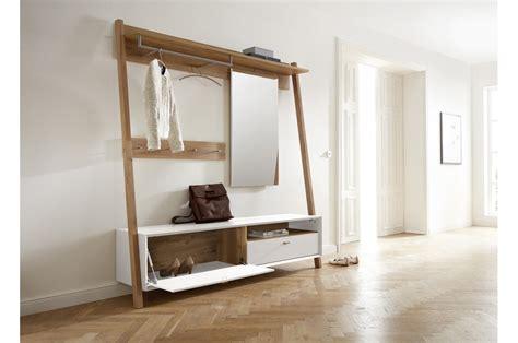 ensemble table et chaise salle manger meuble d 39 entrée vestiaire pin blanc trendymobilier com