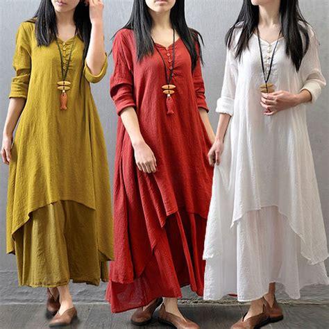 yellow long sleeve maxi linen dress long sleeve maxi