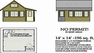 Tiny House Plans Under 200 Sq FT Tiny House Plans with ...