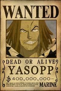 Yasopp Bounty by AnimeGalaxyHD on DeviantArt