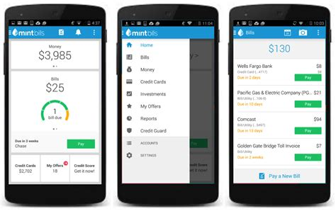 mints latest app helps  pay  bill  time wired