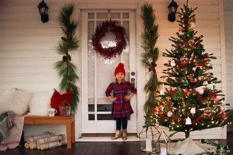 front porch christmas decorations crate  barrel blog