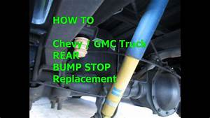 How To Bump Stop Replacement 99