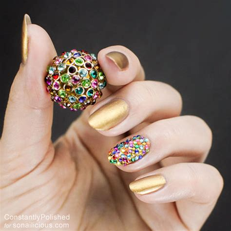 accent nail designs easy manicure ideas accent nail 5 sonailicious