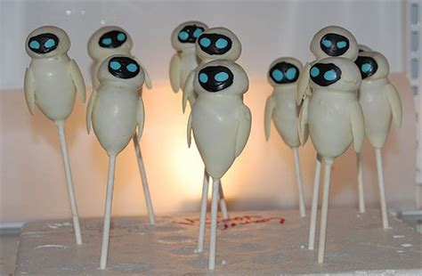 disney pixar wall  eve robot cake pops disney  day