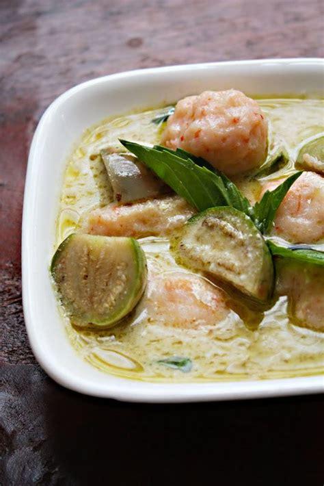 Thai Green Curry with Shrimp Recipe