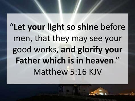 Let Your Light So Shine Kjv by With God