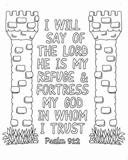 Psalm 91 Coloring Pdf