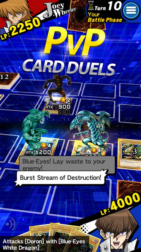 duel links yu gi oh apk games duelists iphone ipad game app card android konami global while take go