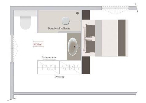 plan chambre parentale avec salle de bain et dressing conseils d 39 architecte comment aménager une salle de