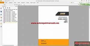 Case Wheel Loaders 721e Service Manual