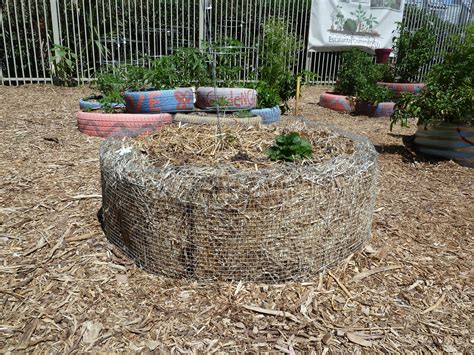The Escalante Community Garden Chicken Wire Beds