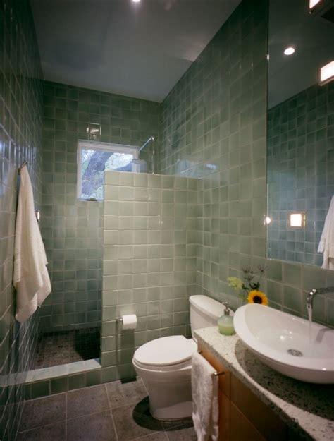 bathroom doorless shower  small bathroom design clean