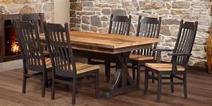 barnwood dining collections walnut creek barnwood With barn wood dining room sets