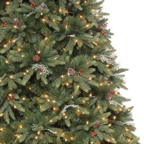 holiday living 12 ft christmas tree martha stewart living 9 ft andes fir set slim artificial tree with 900 clear