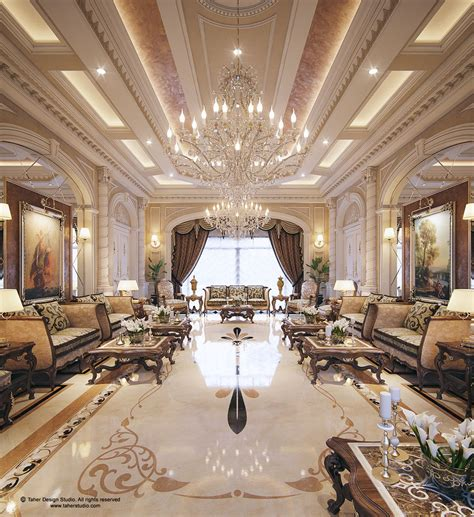 "Luxury Mansion Interior "" Qatar ""  Classic Style"
