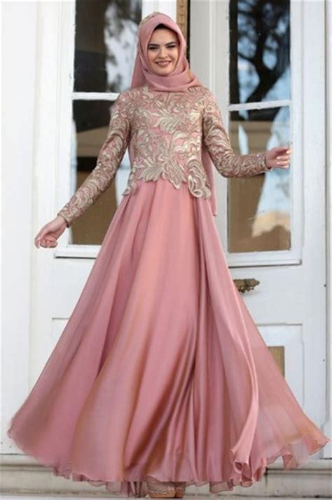 model baju brokat muslim dress gamis hingga gaun pesta