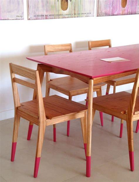 sillas  mesa  patas pintadas home sweet home