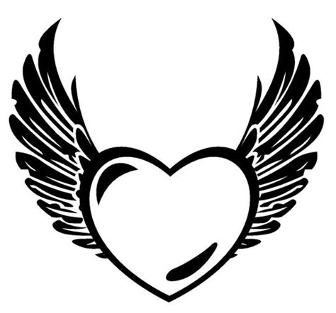 hearts  wings coloring pages coloring home