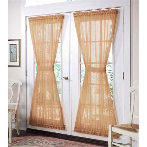 curtain sheers for doors window treatment curtains