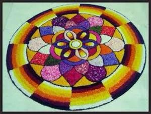 45 Best Pookalam - Indian Floral Design For Onam Festival