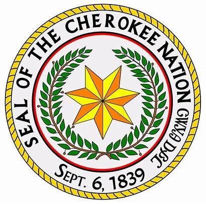 Cherokee Nation Seal Svg Pixels Native Indians