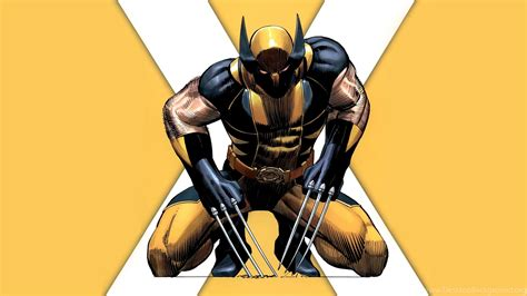 Wolverine Animated Hd Wallpapers - x wolverine yellow marvel comics hd
