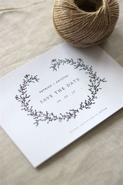 wedding invitation ideas simple wedding stationery