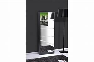 Meuble Chaussure Design : meuble chaussures noir maison design ~ Teatrodelosmanantiales.com Idées de Décoration