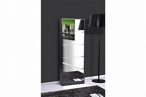 meuble de rangement pas cher etagere malle commode With charming meuble a chaussure avec miroir 1 meuble chaussures facade miroir