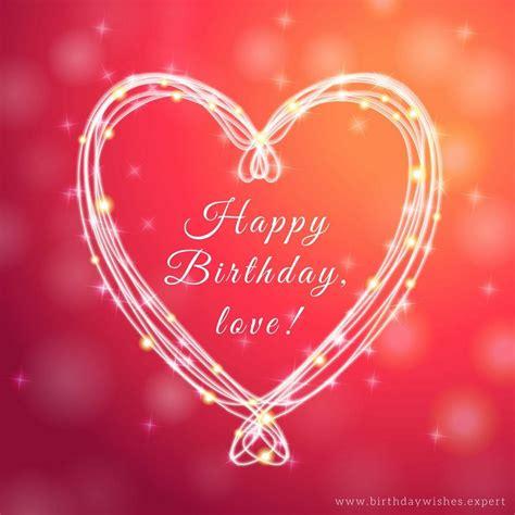 called love romantic birthday wishes  boyfriends