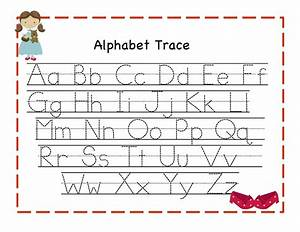 alphabet tracing new calendar template site With alphabet letter tracing templates