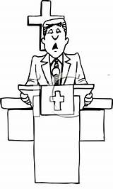 Preacher Clipart Cartoon Clip Royalty Svg Clipartpal sketch template