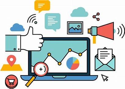 Marketing Clipart Vector Social Transparent Pinclipart