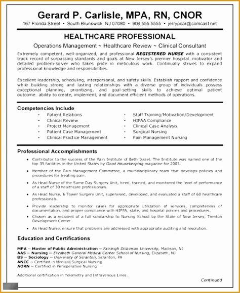 Resume And Curriculum Vitae Exles by 5 Nursing Curriculum Vitae Templates Free Sles