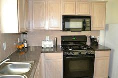glaze kitchen cabinets sherwin williams functional gray to de pink pickled oak 1244