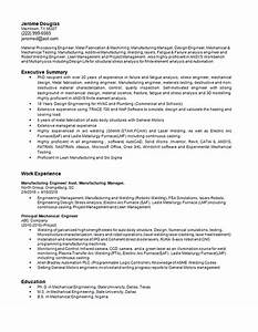 Resume Examples For Professional Manufacturing Engineering Resume Example Robotic Welding
