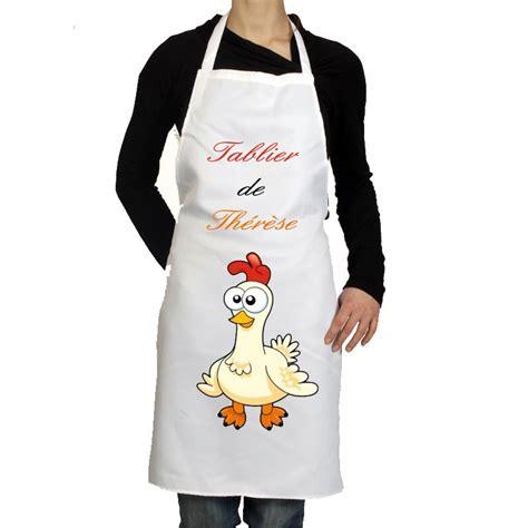 tablier cuisine tablier de cuisine personnalisé pas cher cadeau pour