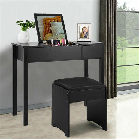 dressing table vanity sets black vanity dressing table set mirrored bedroom furniture