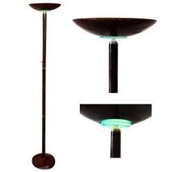 72 quot halogen torchiere floor l standing energy efficient uplighter dimmer ebay