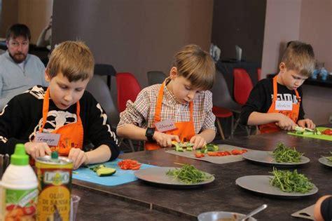 Garšīgā kulinārijas meistarklase bērniem - spikeri.lv